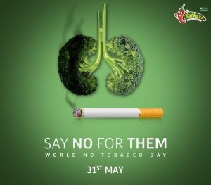 Say no for them! World No Tobacco Day