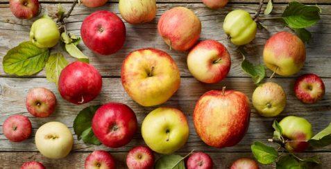 Не варто вибирати занадто великі яблука